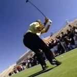 Charles Barkley's golf swing