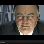 Leonardo DICaprio spelar J. Edgar Hoover, FBI-bossen
