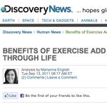 Regelbunden träning varje dag har effekt även om aktiviteten minskar på äldre dagar