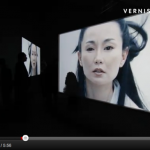 Isaac Julien's installation Ten Thousand Waves