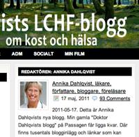 Annika Dahlqvist, fettdoktorn