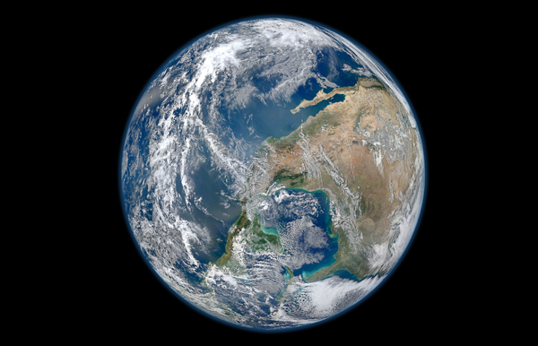 Blue Marble 2012 NASA