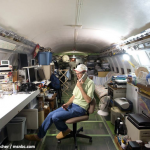 Living in a Boeing 727