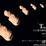 Kina tar närbild av asteroiden Toutatis från egen sond