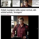 Dolph Lundgren - Stig Björne Film