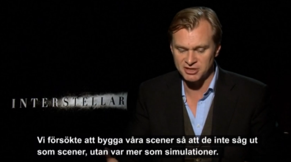 Christopher Nolan, InterstellarChristopher Nolan, Interstellar